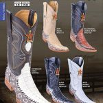 6X Toe Genuine Caiman Mens Western Cowboy Boots Diff.Colors/Sizes