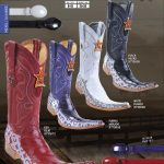 9X Toe Genuine Eel Mens Western Cowboy Boots Diff.Colors/Size