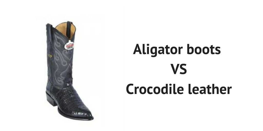 Black Alligator Boots - Can They Compete with Black Crocodile Leather