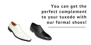 Black, Brown and Grey Tuxedo Shoes - Matching Accessories with Every Color