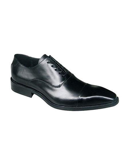 Zota Mens Unique Dress Shoes Brand Black Lace Up Classic Oxford Soft Genuine Leather Unique Zota Mens Dress Shoe