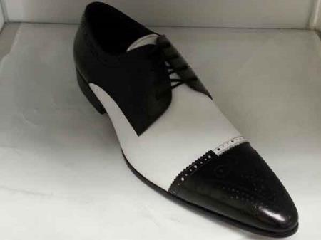 Zota Mens Unique Dress Unique Zota Mens Dress Shoe Brand Men's Black/White Leather Lace Up Unique Zota Mens Dress Shoe