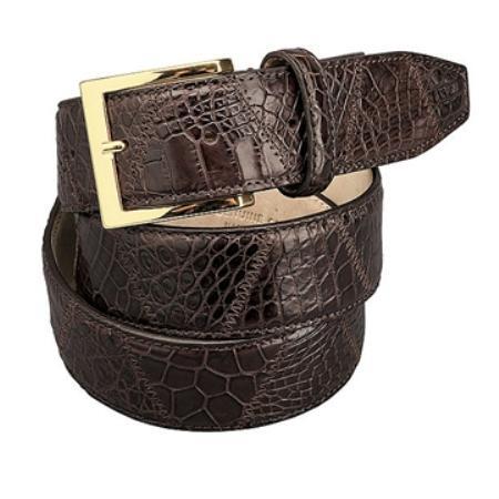 Chocolate Patchwork World Best Alligator ~ Gator Skin
