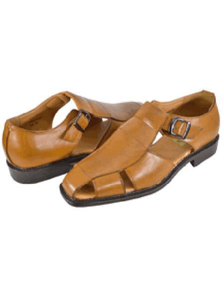 Men's Brown Casual Sandal Shoe