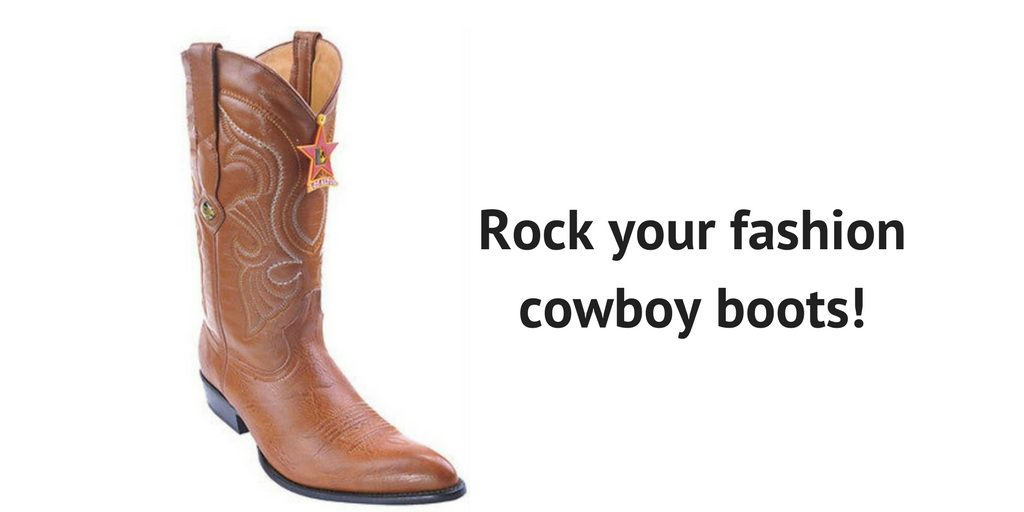 Fashion Foot First - Handsome Ways to Rock Mens Brown Cowboy Boots