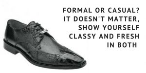 Formal or Casual - Wearing Brown and Black Wingtip Shoes