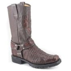 Los Altos Brown Genuine Crocodile