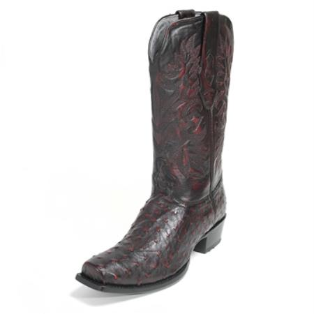 Los Altos Black Stingray mantarraya skin Boot