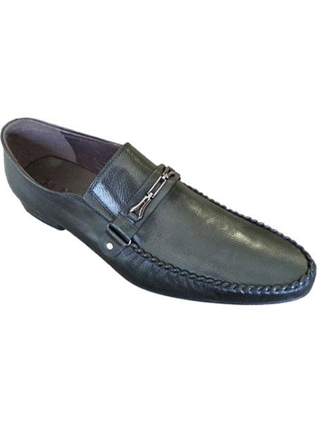 Zota Mens Unique Dress Unique Zota Mens Dress Shoe Brand Men's Black Italian Style Fashionable Leather Loafers