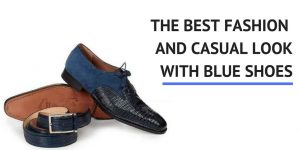 Mens Blue Suede Dress Shoes and Casual Boots - Mastering Modern Materials