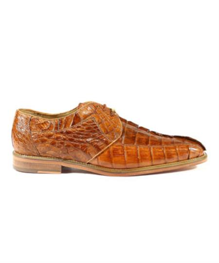 Mens Belvedere Shoes Colombo Camel Oxfords