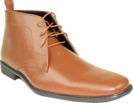 Mens Dress Boots for Formal Events with Wrinkle Free Material
