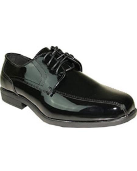 Double Runner Tuxedo Dress Shoe for Wedding