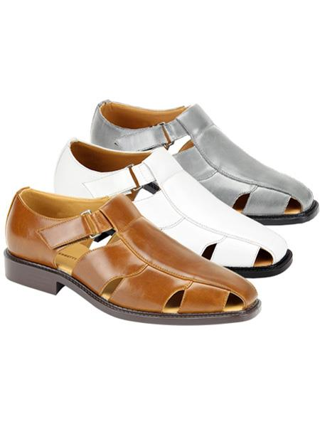 Mens Sandal Available in Black, Ivory, Natural, Navy, Tan, White Colors