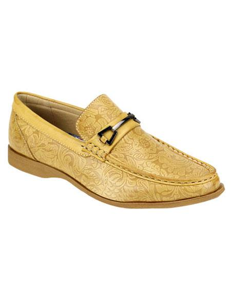Mens Casual Slip-On Loafer Scotch Fashionable Shoes