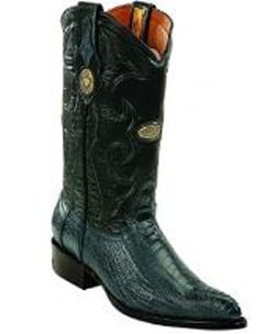 Mens White Diamonds Handcrafted Genuine Ostrich Leg Blue Jean Boots