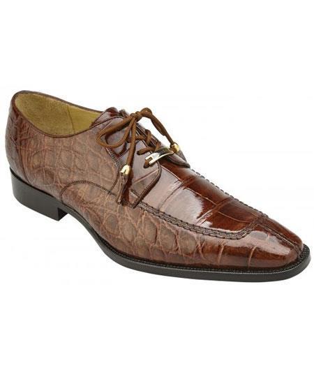Men's Peanut Tassels Laces Genuine World Best Alligator ~ Gator Skin Cushion Insole Shoes