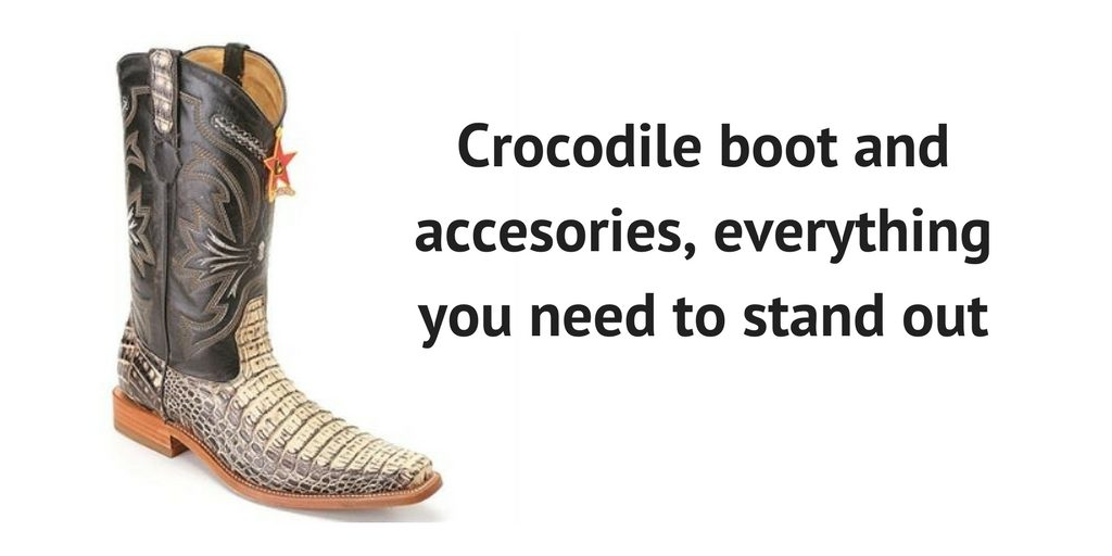 Timeless Quality - Caring for Black Crocodile Boots and Accessories