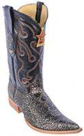 Croc TaPrint OffWhite Vintage Los Altos Mens Cowboy Boots Western Riding