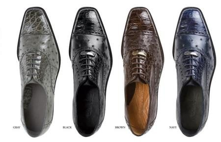 Belvedere  Mens  Shoes  Available  Colors  In  Gray, Black, Brown, And Navy