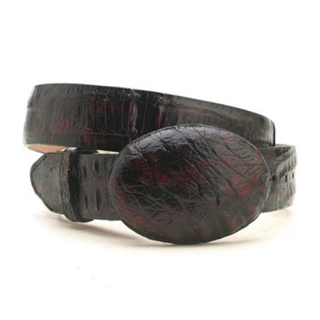Black cherry caiman hornback