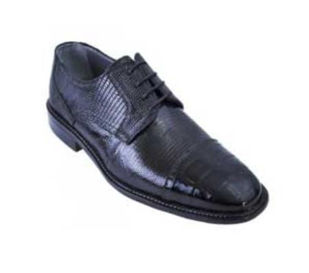 Black Genuine AllOver Crocodile Shoes