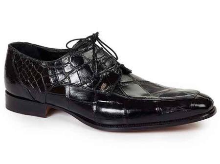 Black Split Toe Mens Dress Shoes
