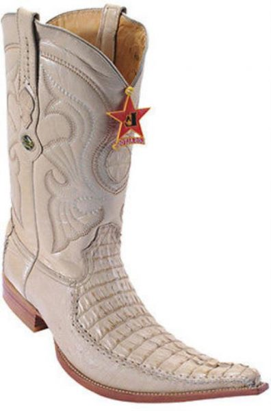 Caiman TaCroc Oryx Beiges Los Altos Mens Cowboy Boots Western Riding 290