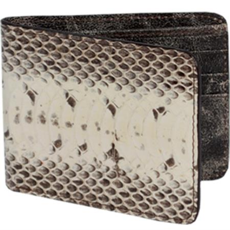 Cartera Vivora de Agua Mens Wallet Natural