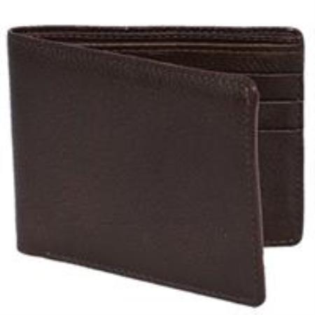 Carteras Alce Mens Wallet Café