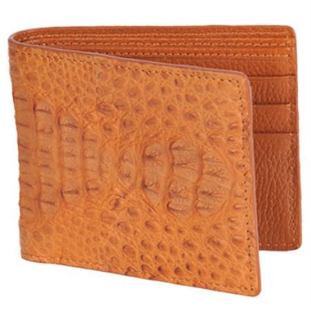 Carteras Caiman LomoMens Wallet Cognac