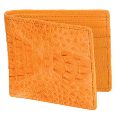 Carteras Caiman LomoMens Wallet Mantequilla