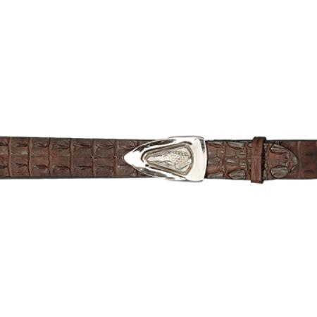 Chocolate Brown Genuine Hornback