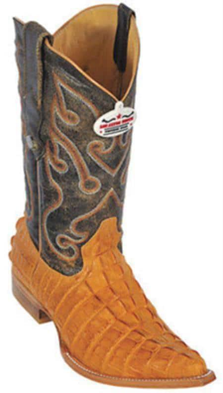 Croc TaPrint Riding Buttercup Los Altos Mens Western Boots Cowboy Classics