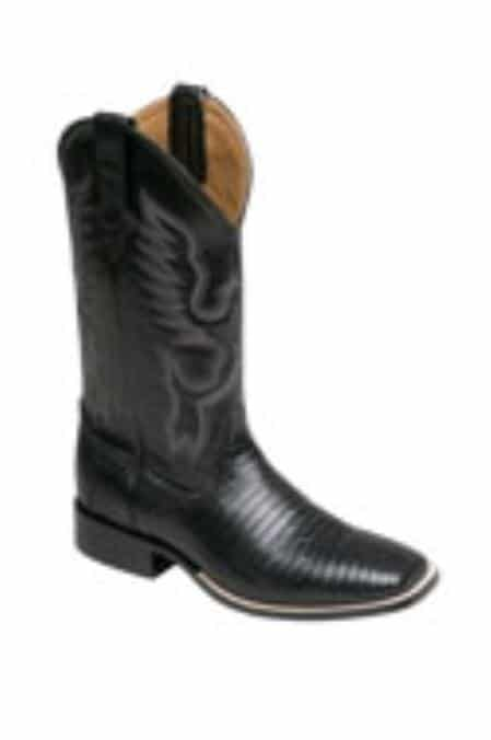Ferrini Mens Teju Lizard S-Toe Boots