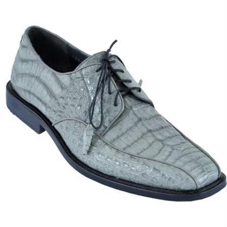 Gator Skin Dress Shoe Gray