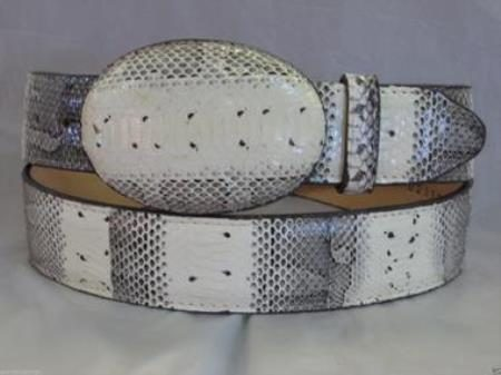 Genuine authentic natural water snake western cowboy belt