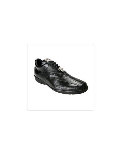 Belvedere Men's Bene Sneaker in Black