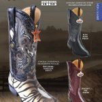 JToe Stingray Rowstone Mens Western Cowboy Boots Diff. Colors/Sizes
