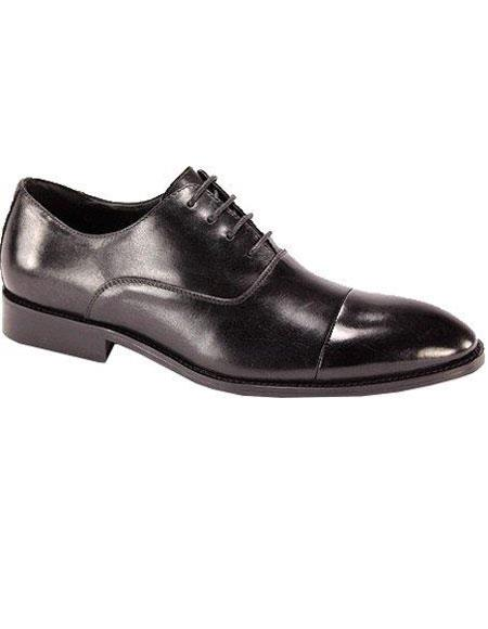 Mens Oxford Dress Shoe Black