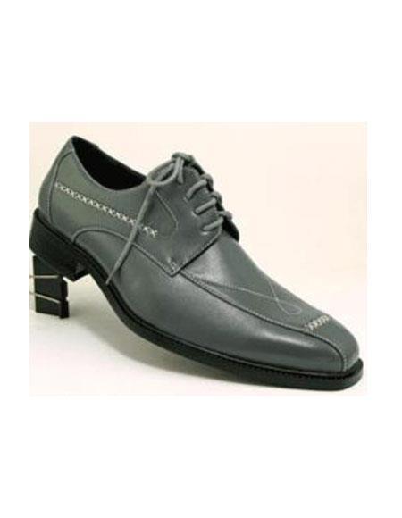 Mens Dress Shoes Gray