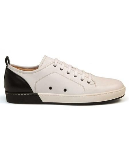 Mens Authentic Belvedere Brand Calf ~ Leather Black Lace Up Shoe