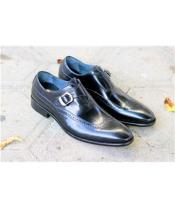 Mens Slip On Black Shoes