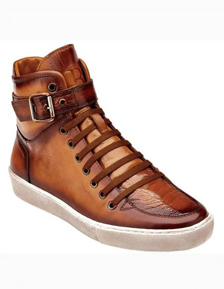 Mens Antique Almond Lace Up Shoe
