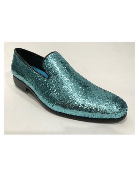 Mens Dress Shoes Turquoise