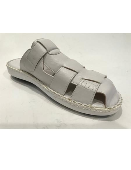 Mens Gray Sandal