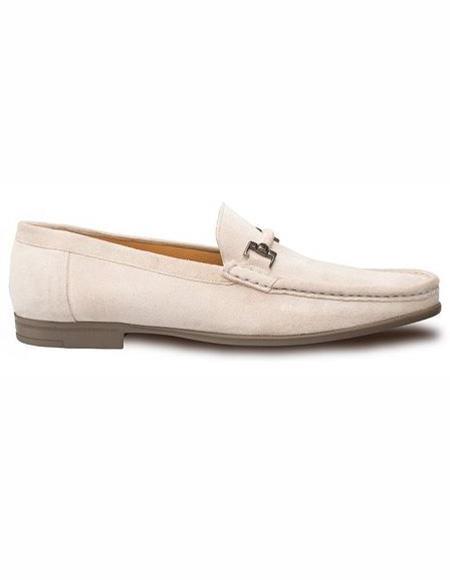 Mens Bone Loafer Design Slip On Shoe