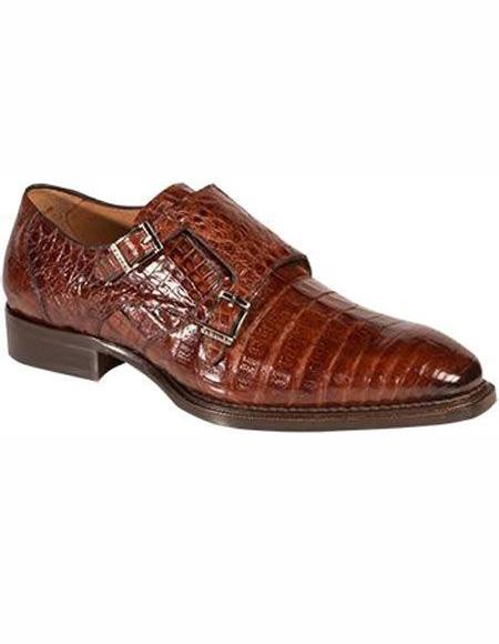 Mens Sport Double Monk Strap Shoe