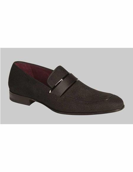 Mens Leather Lining Loafer design Shoe