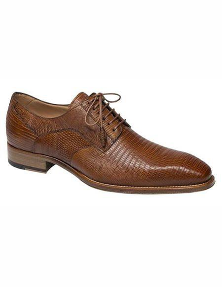 Mens Honey Lace Up Cap Toe